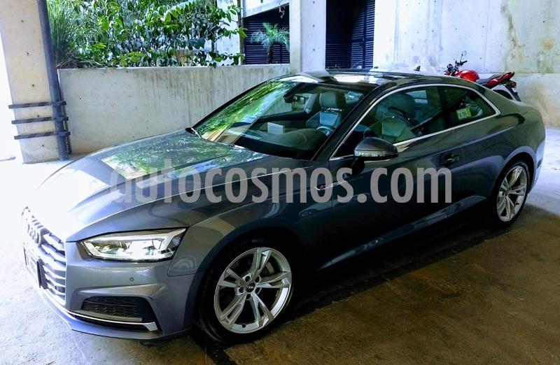 Audi A5 2.0T S-Line (252Hp) usado (2018) color Gris precio $580,000
