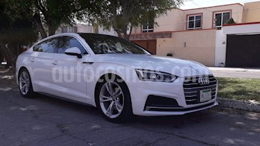 Audi A5 2.0T S-Line (190Hp) usado (2018) color Blanco precio $520,000