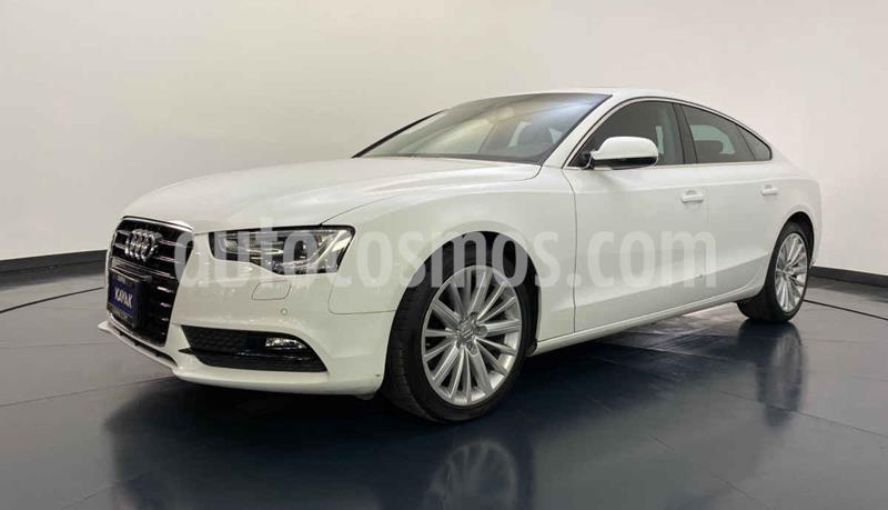 Audi A5 Sportback 1.8T Luxury Multitronic usado (2015) color Blanco precio $329,999