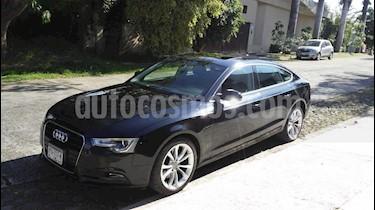 Audi A5 Sportback 2.0T Luxury Multitronic usado (2015) color Negro Basalto precio $325,000