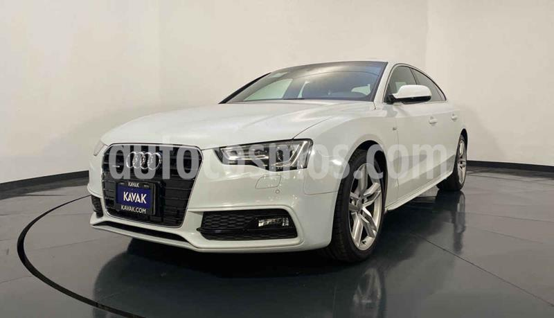 Audi A5 Sportback 2.0T S-Line (190Hp) usado (2014) color Blanco precio $354,999