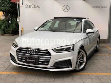 Audi A5 Sportback 2.0T S-Line (252Hp) usado (2018) color Blanco precio $595,000
