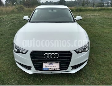 Audi A5 Sportback 1.8T Luxury Multitronic usado (2015) color Blanco Glaciar precio $320,000