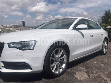 Audi A5 2.0T Luxury Multitronic (225Hp) usado (2014) color Blanco precio $322,000