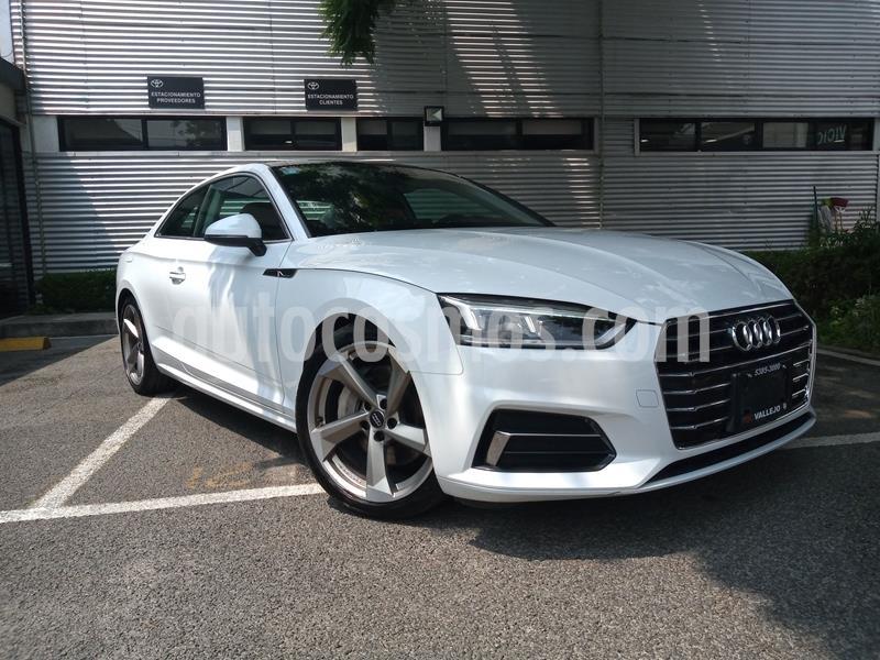 foto Audi A5 2.0T Elite (252Hp) usado (2018) color Blanco precio $530,000
