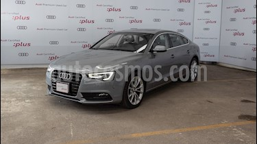 Audi A5 2.0T Luxury Multitronic (225Hp) usado (2016) color Gris precio $420,000