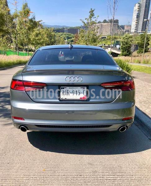 Audi A5 2.0T S-Line (190Hp) usado (2018) color Gris precio $500,000