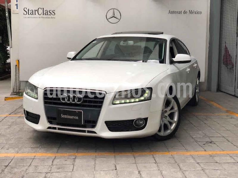 Audi A5 Sportback 2.0T Luxury Multitronic usado (2011) color Blanco precio $220,000