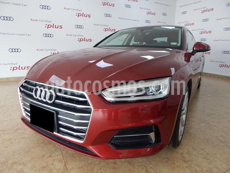 Audi A5 Sportback 2.0T Select (190Hp) usado (2018) color Rojo Cobrizo precio $480,000