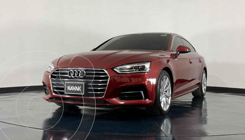 Foto Audi A5 Sportback 2.0T Select (190Hp) usado (2018) color Rojo precio $557,999