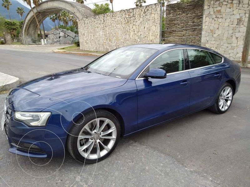 Foto Audi A5 Sportback 3.0T Elite Quattro (272Hp) usado (2014) color Azul precio $299,000