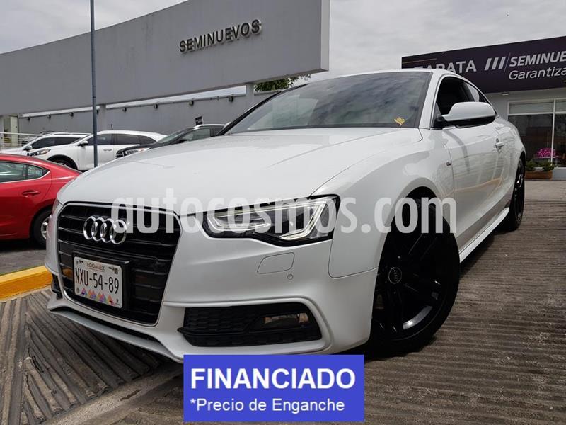 Audi A5 2.0T S-Line Quattro (211Hp) usado (2015) color Blanco precio $93,000