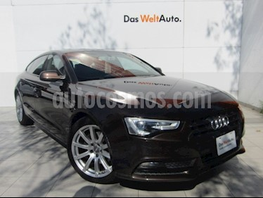 Audi A5 Sportback 1.8T Luxury Multitronic usado (2014) color Marron precio $249,000