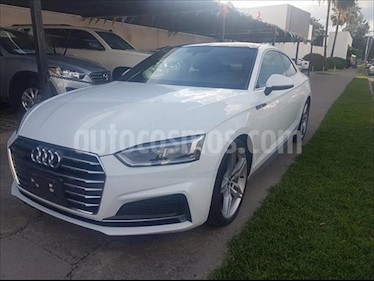 Audi A5 2.0T S-Line (252Hp) usado (2018) color Blanco precio $560,000