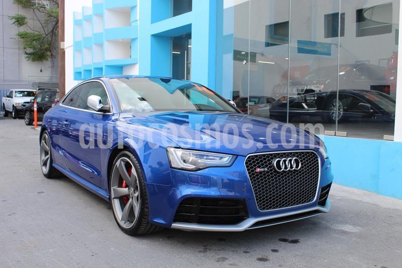 Audi A5 2.0T Luxury S-Tronic Quattro usado (2016) color Azul precio $849,000