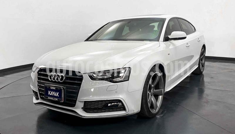 Audi A5 2.0T S-Line (252Hp) usado (2015) color Blanco precio $357,999