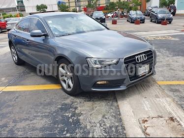 Foto venta Auto usado Audi A5 Sportback 1.8T Luxury Multitronic (2014) color Gris Monolito precio $275,000