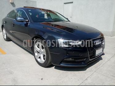 Audi A5 Sportback 1.8T Luxury Multitronic usado (2016) color Azul precio $340,000