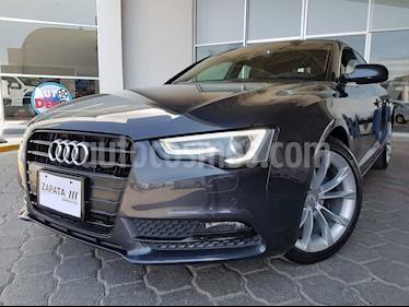 Audi A5 Sportback 2.0T Select (190Hp) usado (2014) color Gris precio $315,000