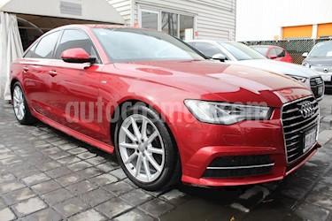 Foto venta Auto usado Audi A6 1.8 TFSI Sline (190hp) (2016) color Rojo precio $410,000