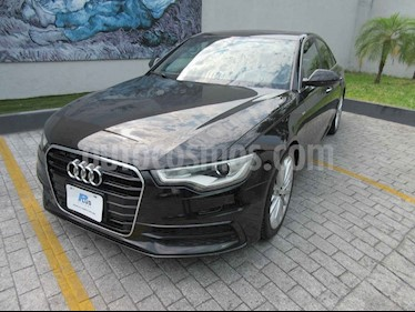 foto Audi A6 2.0 T FSI S-Line Multitronic (180Cv) usado (2013) color Negro precio $294,900