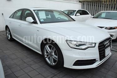 Foto venta Auto usado Audi A6 2.0 T FSI S-Line Navy Multitronic (180Cv) (2013) color Blanco precio $270,000