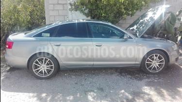 Foto venta Auto usado Audi A6 2.0 TFSI Elite Quattro (252hp) (2008) color Gris precio $120,000
