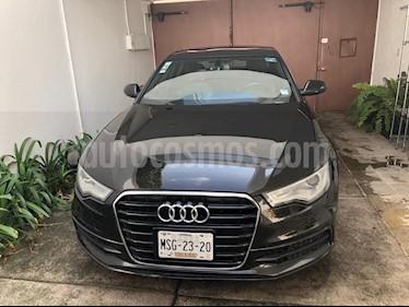 Audi A6 2.0 TFSI S Line (252hp) usado (2013) color Negro precio $340,000