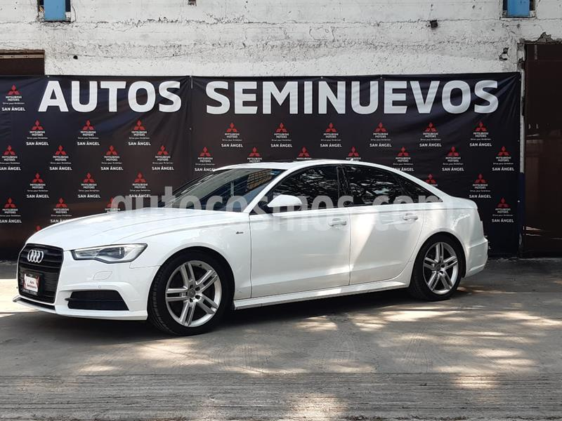 Foto Audi A6 2.0 TFSI S Line (252hp) usado (2016) color Blanco Ibis precio $399,000