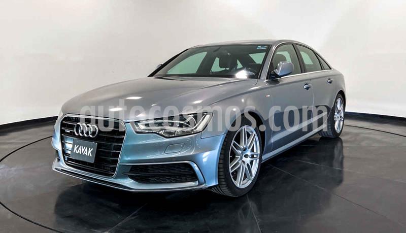 Audi A6 2.0 TFSI S Line Quattro (252hp) usado (2013) color Azul precio $342,999