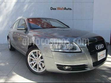 Audi A6 4.2 Titronic Quattro usado (2008) color Gris Plata  precio $270,000
