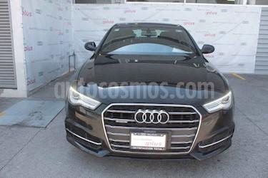 Audi A6 2.0 TFSI S Line Quattro (252hp) usado (2017) color Negro precio $490,000