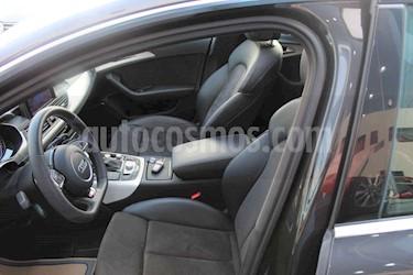 Audi A6 2.0 TFSI S Line Quattro (252hp) usado (2017) color Negro precio $593,000