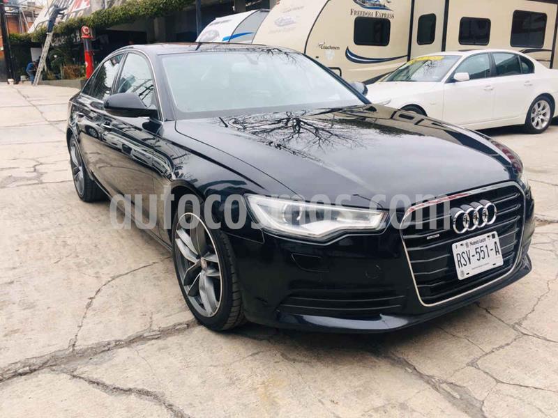 Audi A6 3.0T FSI Luxury Tiptronic Quattro usado (2012) color Negro precio $320,000