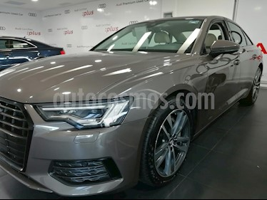 Audi A6 55 TFSI Elite quattro usado (2019) color Marron precio $998,000