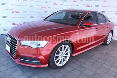 Audi A6 4p S Line L4/1.8/T Aut usado (2016) color Rojo precio $385,000