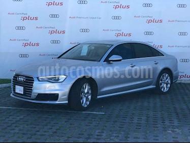 Audi A6 2.0 T FSI Elite Multitronic (180hp)  usado (2016) color Plata precio $380,000