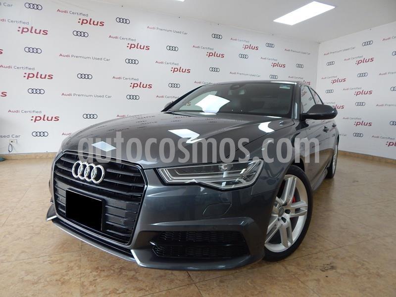 Audi A6 2.0 TFSI S Line (252hp) usado (2016) color Gris precio $380,000