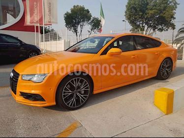 Audi A7 3.0T S Line (333hp) usado (2018) color Naranja precio $1,164,900