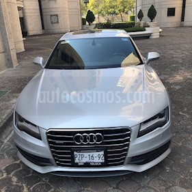 Audi A7 3.0T S Line (333hp) usado (2014) color Plata precio $555,000