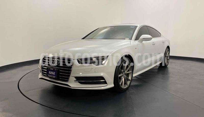 Audi A7 2.0T S Line (252hp) usado (2016) color Blanco precio $499,999