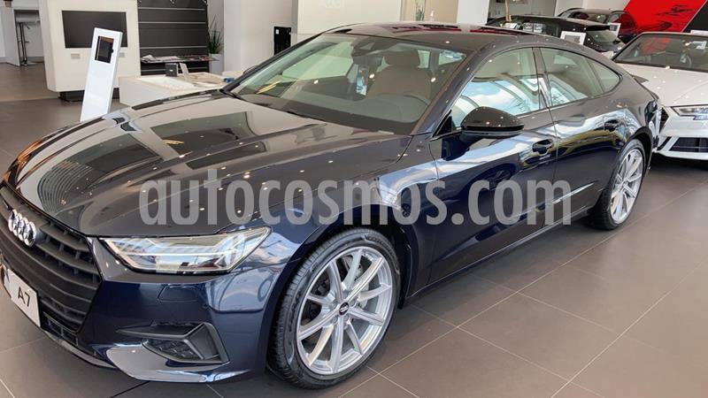 Audi A7 55 TFSI Elite quattro usado (2019) color Azul precio $1,309,900