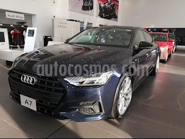 Audi A7 55 TFSI Elite usado (2019) color Azul precio $1,083,514