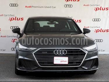 Audi A7 3.0 SB 55 TFSI S line Quattro usado (2019) color Gris precio $999,900