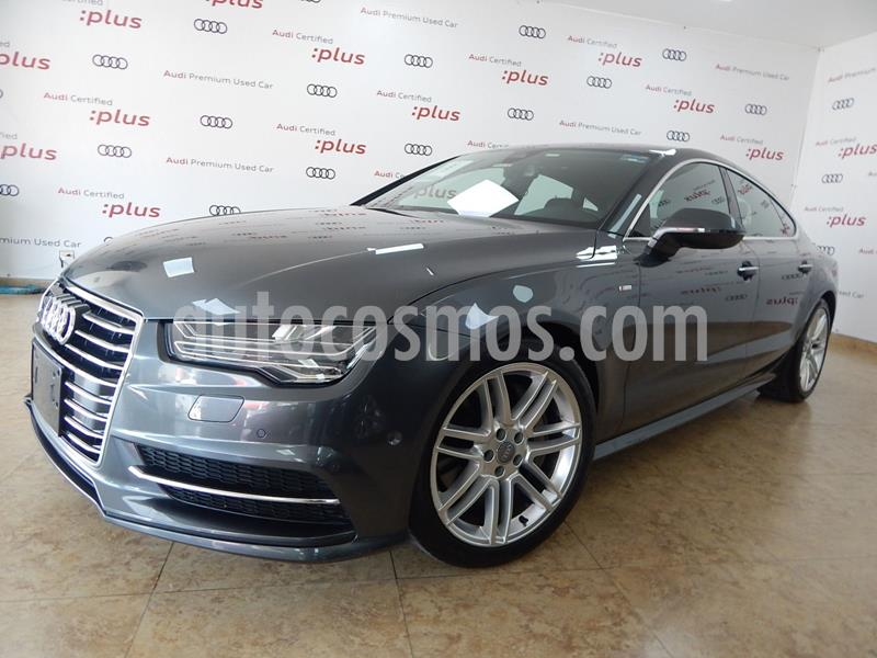 Audi A7 3.0T S Line (333hp) usado (2016) color Gris precio $580,000