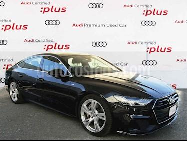 Audi A7 3.0 SB 55 TFSI S line Quattro usado (2019) color Gris precio $1,150,000