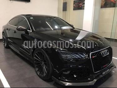 Audi A7 5p RS7 V8/4.0/T Aut usado (2016) color Negro precio $1,214,900