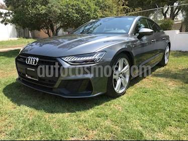 Audi A7 3.0 SB 55 TFSI S line Quattro usado (2019) color Gris precio $879,000