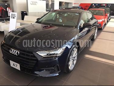 Audi A7 55 TFSI Elite usado (2019) color Azul precio $1,309,900