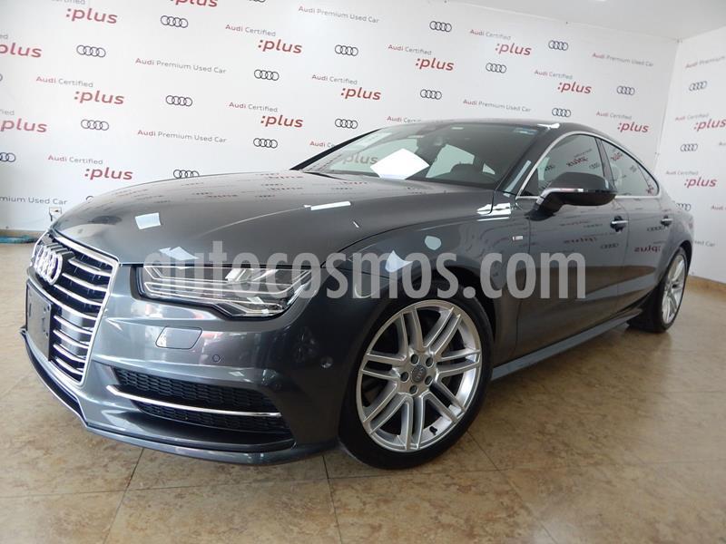 foto Audi A7 3.0T S Line (333hp) usado (2016) color Gris precio $580,000